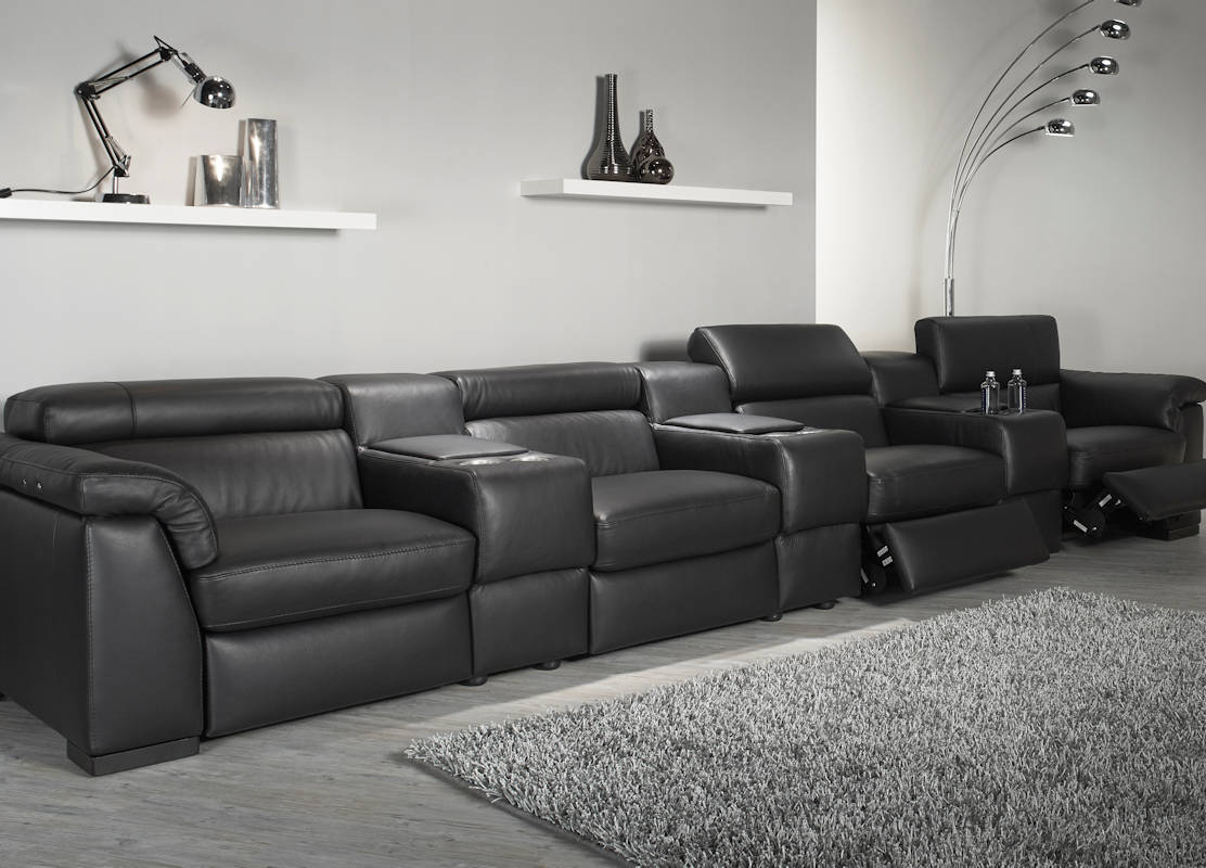 Natuzzi Editions Encore Power Reclining Cinema Seating