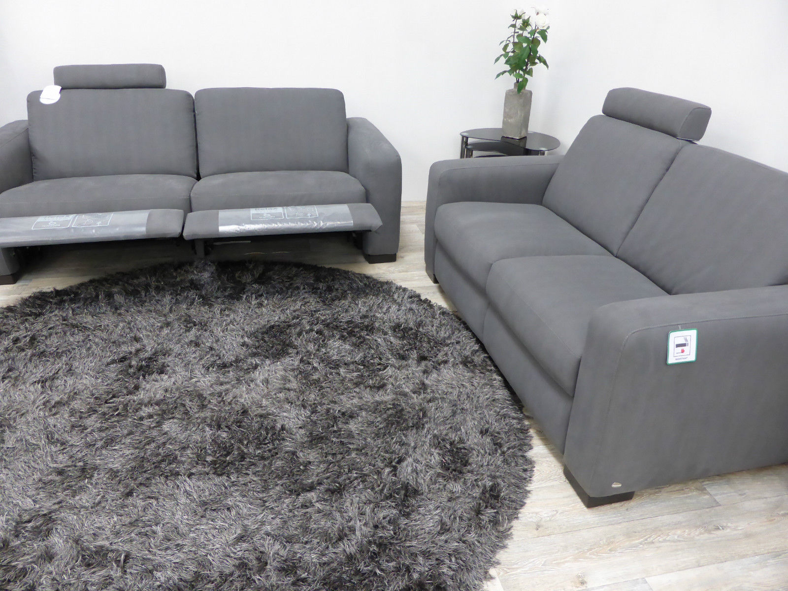 Italsofa Bridge 3 Seater Recliner And 2 Seater Static Furnimax Brands Outlet