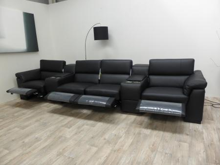 Natuzzi Editions Encore Power Reclining Cinema Seating Sofa by Natuzzi