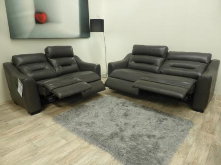Lazy Boy Tara 3 Seater and 2 Seater Electric Recliners