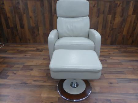 Lazy Boy Andrea Ivory Cream Power Recliner Chair And