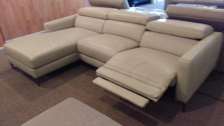Kuka Cyber Electric Reclining Chaise Sofa Furnimax