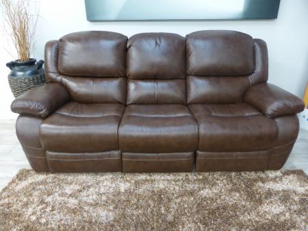 La-Z-Boy Ava Leather 3 & 2 Seater power Recliner Sofas