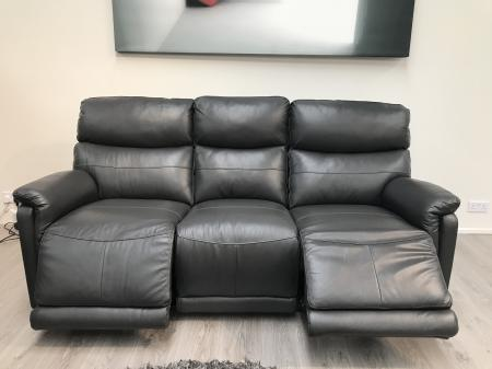Mizzoni Jackson 3 Seater Electric Recliner and 2 Seater Static