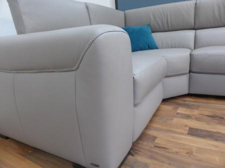 Natuzzi Editions Urban Power Reclining Corner Sofa