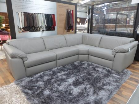 NATUZZI SENSOR 4 PIECE POWER RECLINING CORNER SOFA