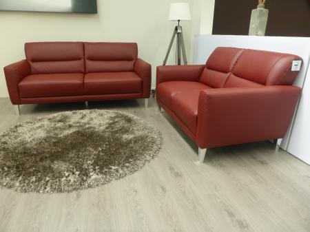 Natuzzi private label Dolomite Italian leather 3+2 Seater