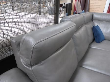 Natuzzi Private Label Napoli Power Reclining Corner Sofa