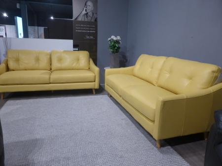 Mizzoni Daisy Leather 3 & 2 Seater