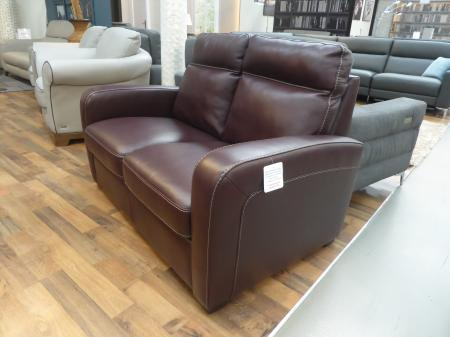 Natuzzi B938 Rodrigo high grade leather 3 ,2 & power recliner chair