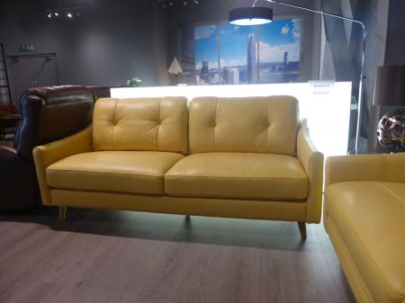 Mizzoni Italia Daisy thick leather 3 & 3 seater sofas