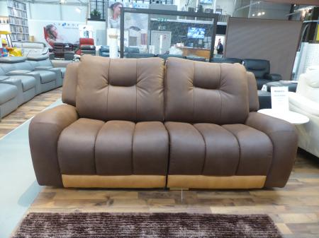Montreal Pocket sprung Soft Suede feel fabric reclining 3 & 2 seater