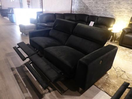 Florence Modern power reclining corner sofa with power 3 seater