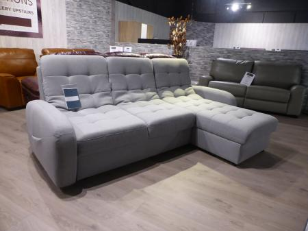 Gala Collezione Blom Right Hand Chaise Sofabed With Storage