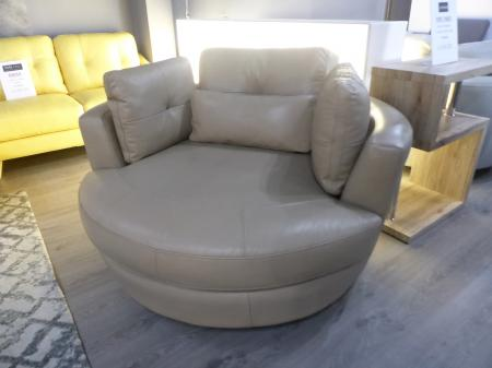 Dynamic Pocket Sprung Swivel Cuddle Chair