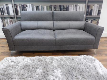 Private label Marco modern 2 & 2 seater sofas with adjustable headrest