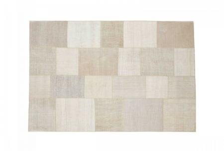 Natuzzi Italia Acquarello light Grey 170cm x 240cm Rug