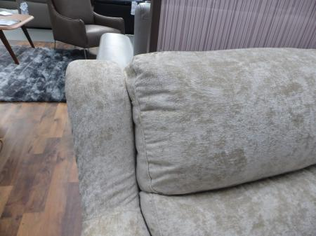 Regent luxury soft fabric power reclining 3 seater & chair
