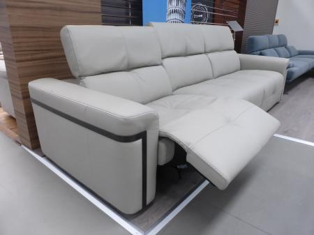 Franco Ferri Italia Elise Huge 3 Seater Power Recliner