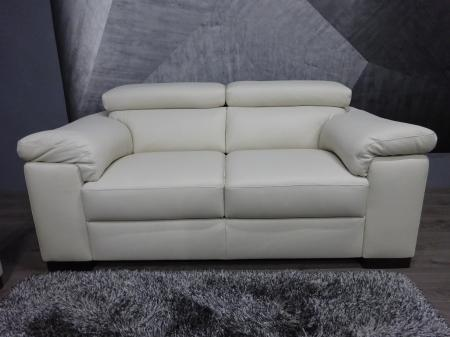 Natuzzi Private label Panama Leather 3 & 2 with adjustable headrests