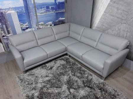 Natuzzi Private label Trentino Italian Leather corner sofa