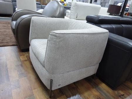 Natuzzi Italia Anteprima 2705 chair in lovely fabric