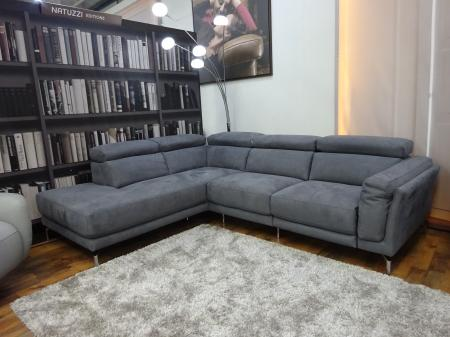 NATUZZI PRIVATE LABEL SAN DIEGO MODERN L/H POWER CORNER SOFA