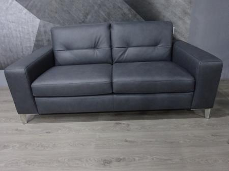 Natuzzi Highpoint leather sofa bed with most comfortable mattress