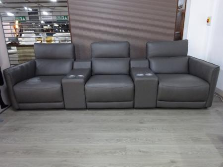Franco Ferri Italia Power Reclining Cinema Sofa