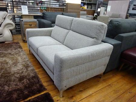 Natuzzi Italia Iter soft fabric 2 seater sofa