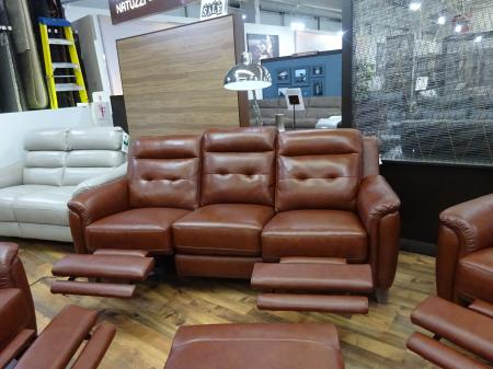 Cambridge Power Reclining 3 Seater Sofa & 2 Chairs