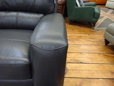 Richmond full leather corner sofa
