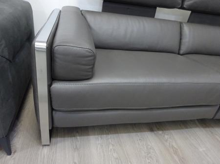 Francoferri Italia Coco leather power reclining 3 & chair