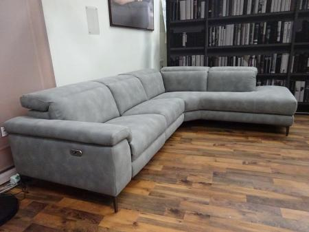 Volante Daytona power Reclining Chaise Corner Sofa