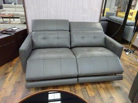 New Trend Duca Slim designer 3 seater Power & matching 2 seater