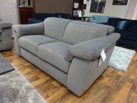 Natuzzi Michelle/sensor power reclining 3 Seat & static 2 seater sofa
