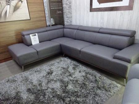 Volante Cannes soft wipeable Technology fabric corner sofa
