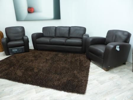 Unrepeatable bargain salerno 3 seater sofa 2 armchairs for Sofa 3 cuerpos salerno