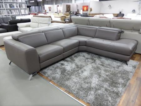 natuzzi editions artisan electric reclining chaise corner sofa taupe furnimax brands outlet. Black Bedroom Furniture Sets. Home Design Ideas