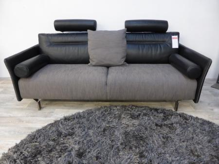 Natuzzi Italia Tenore 2787 Modern Leather Fabric Sofa Set Furnimax Brands Outlet