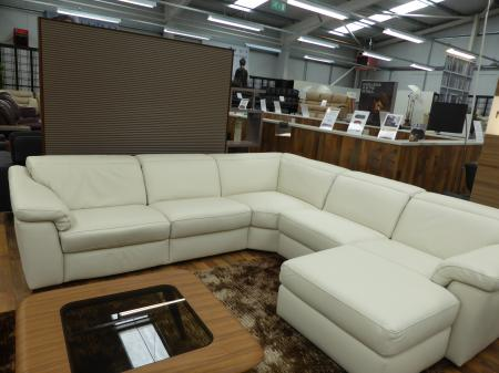 natuzzi edition sensor b760 electric reclining 2 x corner. Black Bedroom Furniture Sets. Home Design Ideas