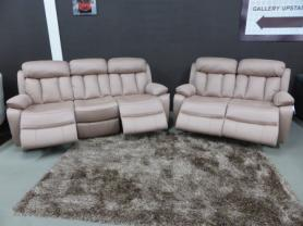 Georgina excellent High quality fabric 3 & 2 seater power recliners