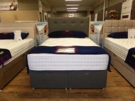 Luxury 2000 Kinetech Natural Complete Double Bed Set