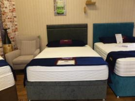 Radiance Memory 1500 Series Complete Ottoman Double Bed