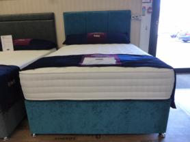 Luxury Pocket Collection Fab 1000 Series Complete Double Bed Set