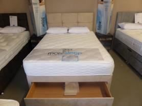More Sleep Luxury Complete double Bed Set