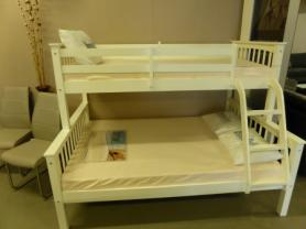AMORE TRIO COMPLETE BUNK BED SET WITH MATTRESSES