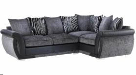 Safari High Quality Fabric Corner Sofa
