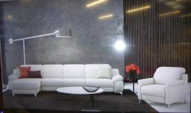 Levana by Rom Left hand facing chaise with matching chair
