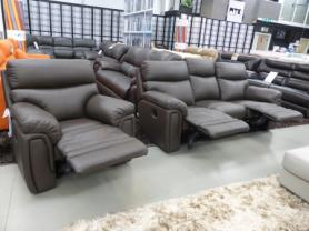 La-z-boy Tampa Leather 3 seat & chair recliners
